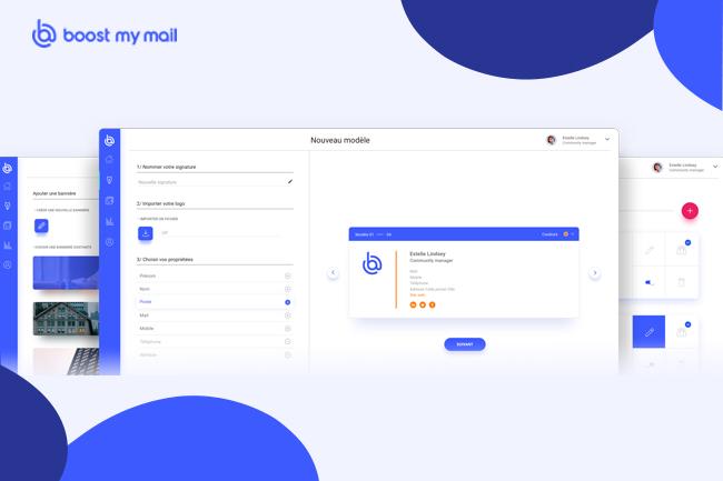 Boost My Mail, la solution SaaS de déploiement de vos signatures mails professionnelles