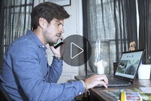 Prêt de l'Acer TravelMateX5 : témoignage de Pierre, chef de projet dans une agence événementielle