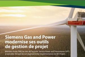 Siemens a choisi Microsoft Project pour sa gestion de projet