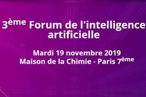 3ème édition du forum de l'Intelligence Artificielle le 19 novembre : Intel expose sa vision de l'IA