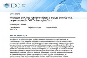 Les avantages de Dell Technologies Cloud en matière de coût