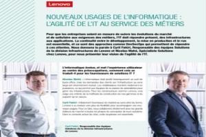 Podcast partenaire Lenovo infrastructure
