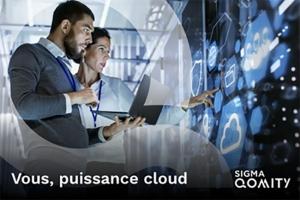 Hybridation du SI, infog�rance multi-cloud, h�bergement � la carte... Accompagnez la transformation de votre entreprise avec SIGMA Qomity