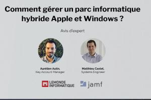 Comment gérer un parc informatique hybride Apple et Windows ?