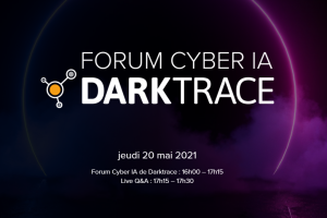 Forum Cyber IA de Darktrace - 20 mai