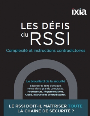 Infographie : Les défis du RSSI