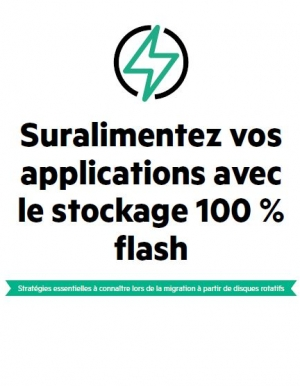Suralimentez vos applications avec le stockage 100 % flash