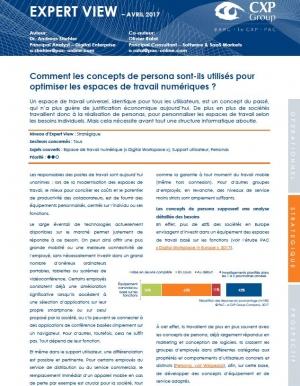Article PAC : Comment les concepts de persona sont-ils utilisés pour optimiser les espaces de travail numériques ?