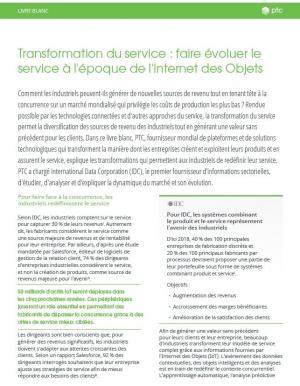 Transformation du service : comprendre, avancer, dépasser