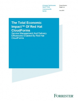 Étude Forrester sur le Red Hat CloudForms