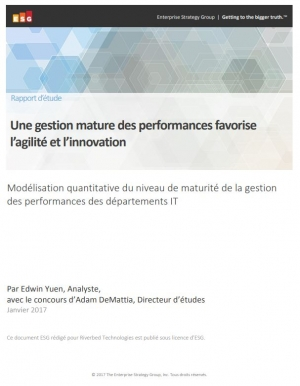 Une gestion mature des performances favorise l'agilité et l'innovation