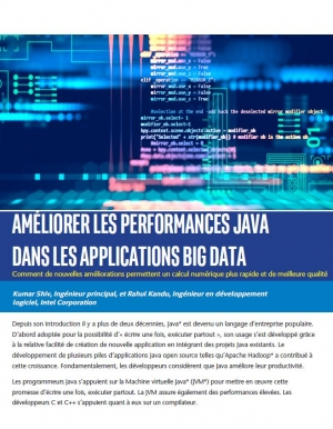 Améliorer les performances java dans les applications big data