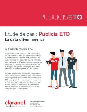 Etude de cas : Publicis ETO choisit Claranet pour l'hébergement et l'infogérance de ses plateformes