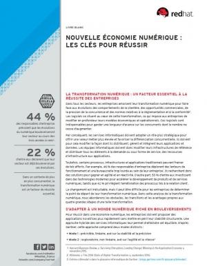 Nouvelle économie numérique : les clés pour réussir
