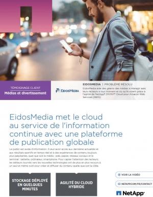 EidosMedia met le cloud au service de l'information continue avec une plateforme de publication globale