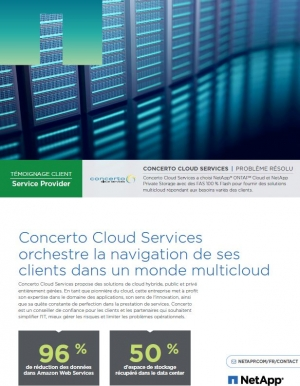 Concerto Cloud Services orchestre la navigation de ses clients dans un monde multi cloud