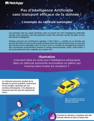 Pas d'intelligence artificielle sans transport efficace de la donnée ! L'exemple du véhicule autonome.