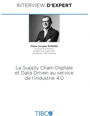 Interview de Pierre-Jacques Evrard sur la Supply Chain Digitale