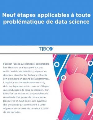 9 �tapes applicables � toute probl�matique de data science