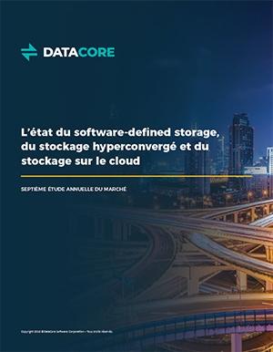 Étude - État du software defined storage, cloud et hyperconvergé