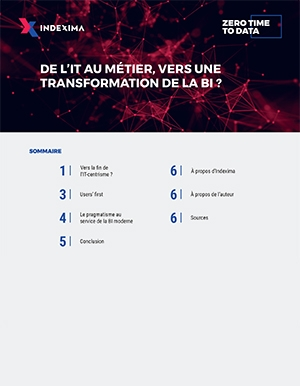 De l'IT au métier, vers une transformation de la BI