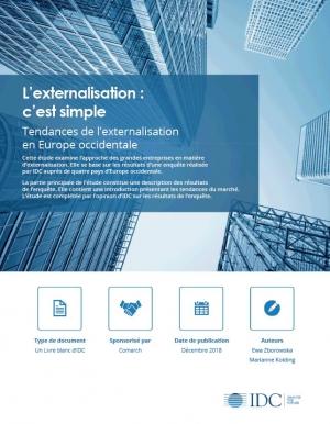 Etude : les tendances de l'externalisation en Europe occidentale