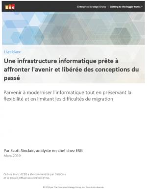 Livre blanc : Une infrastructure informatique pr�te � affronter l'avenir et lib�r�e des conceptions du pass�