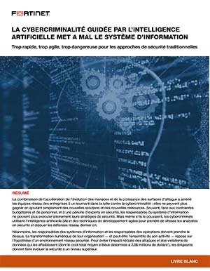 Cybercriminalité et IA : quelles menaces ?