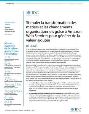 Rapport IDC : l'impact du Cloud Public sur la transformation digitale des entreprises