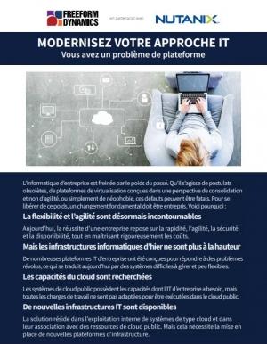 Quelle plateforme mettre en place pour moderniser votre approche IT ?