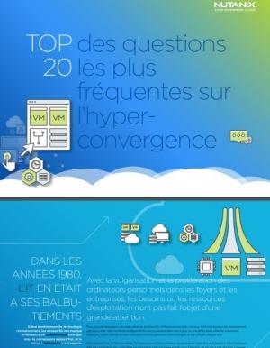 Top 20 des questions les plus fr�quentes sur l'hyperconvergence