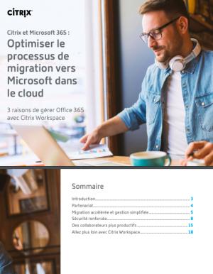 Comment optimiser le processus de migration vers Microsoft dans le cloud