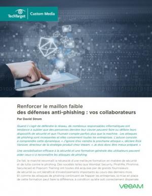 Votre défense anti-phishing est-elle suffisamment efficace ?
