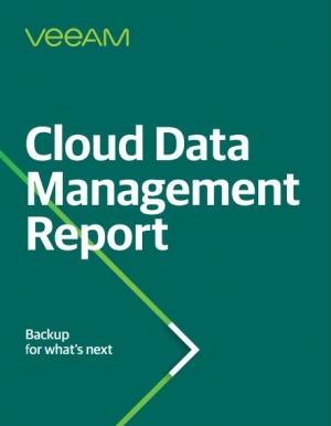 Rapport « Cloud Data Management Report » : 1 575 décideurs IT témoignent »