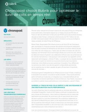 Comment Chronopost a optimisé le suivi de ses colis en temps réel ?