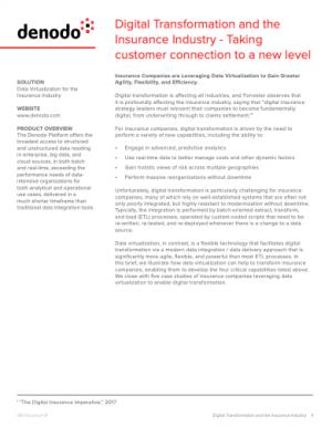 Transformation digitale : le secteur des assurances à l'oeuvre