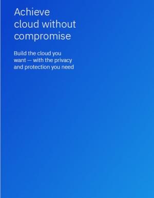 Cloud hybride : agilité et sécurité irréprochables