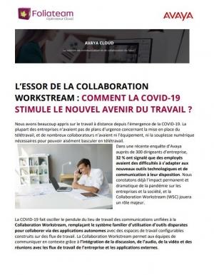 Travail hybride : comment la COVID-19 stimule-t-elle le nouvel avenir du travail ?