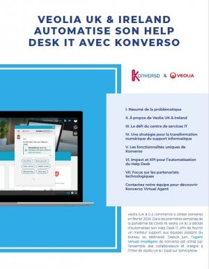 Cas client : Veolia UK & Ireland automatise son Help Desk IT avec Konverso