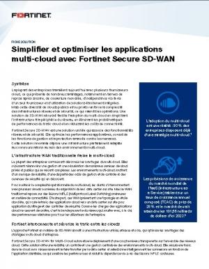 Choisir une solution SD-WAN pour optimiser votre infrastructure multi-Cloud