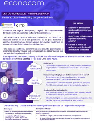Virtualisation des postes de travail : avantages et solutions