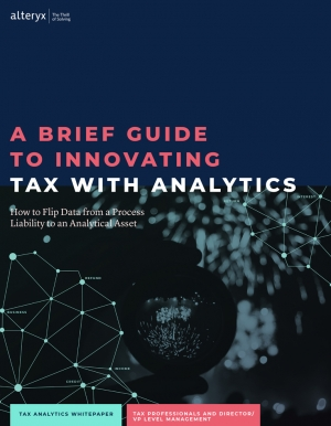 Petit guide de l'innovation fiscale avec l'analyse de donn�es
