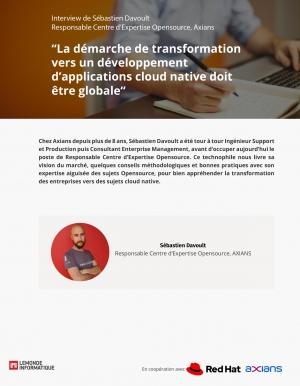 Cloud Native : S�bastien Davoult vous livre quelques cl�s pour changer de paradigme dans votre infrastructure.