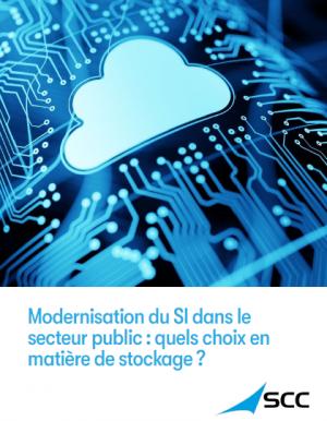 Secteur public : quel choix de stockage pour une infrastructure IT moderne