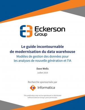 Le guide incontournable de la modernisation du data warehouse