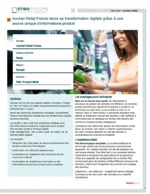 Success story : Auchan Retail France opte pour une solution PIM