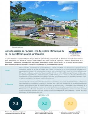 Le CH de Saint-Martin consolide son SI gr�ce � la virtualisation de stockage