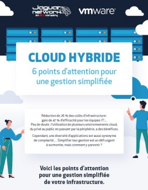 6 points d'attention pour une gestion simplifiée de votre infrastructure Cloud hybride