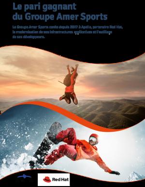 Moderniser ses plateformes digitales : le pari gagnant du Groupe Amer Sports