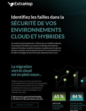 Infographie : Identifiez les failles dans la s�curit� de vos environnements Cloud et Hybride